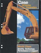 Equipment Brochure - Case - 9010 9060 et al - 90 series - Excavator (E4025)