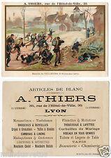 Bataille de COULMIERS 1870.  Battle of COULMIERS. A.thiers rue hotel de ville.