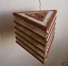 Lampenschirm aus Seidenpapier  > feines Blätter-Dekor < Lampshade of silk paper