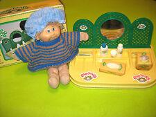 Cabbage Patch Kids Vanity Center Mirror Puffs Tissue Doll Original Box 1980s