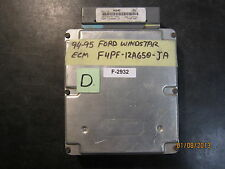 94 95 FORD WINDSTAR ECM #F4PF-12A650-JA *See item description*