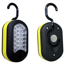 27 LED Hanging Light Compact Work Utility Light Magnetic Hook w/Batteries USA
