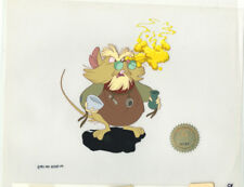 Don Bluth Mr Ages Secret of NIMH 1982 production animation cell LJE Seal COA