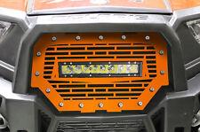 "RZR 1000 Light Bar Grille Polaris UTV 16-17 Spectra Orange +10"" 40W LED Lightbar"