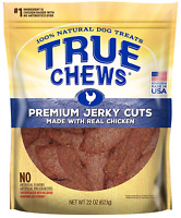 True Chews Premium Jerky Cuts Made with Real Chicken, 22 oz