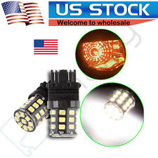 2PCS Super Bright AX-2835SMD Tail Brake Stop Light bulb 3057 3457 4157 3047 3157