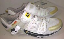 Women's MAVIC Mountain Road Cycling Shoes White Size 7 ERGO RIDE Aero Strap