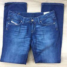Diesel Industry Easee-X Straight Leg Women's Jeans Size W30 L34 Fit W33 (SS3)