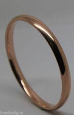 Less than 18cm Rose Gold Fine Bracelets