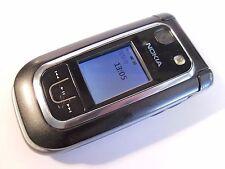 Nokia 6267 - Black (Unlocked) Mobile Phone - Flip Fold