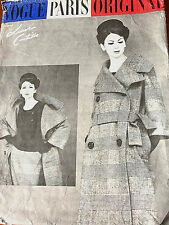 1960 Vintage VOGUE Sewing Pattern B36 SKIRT BLOUSE COAT (1837R) LANVIN-CASTILLO