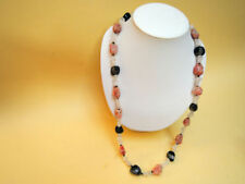 Halsketten und Anhänger mit echten mit Achat-Edelsteinen Schönheits
