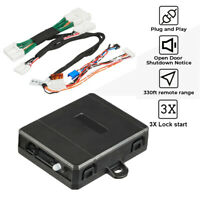 For Toyota Camry 2012-2017 REMOTE START 100% PLUG AND PLAY CAR STARTER 3X LOCK