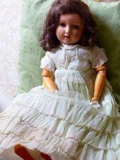 VINTAGE bambola della GERMANIA occidentale (inizio 20th secolo)
