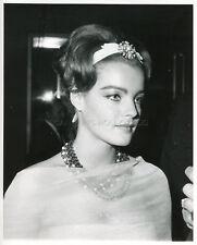 ROMY SCHNEIDER 60s VINTAGE PHOTO ORIGINAL