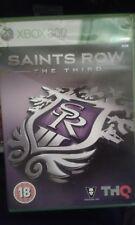 Saints Row Il Terzo Grande Classico Gioco XBOX 360 COMPLETO DI ISTRUZIONI PAL