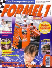Sport automobile revue magazine 10-1996 FORMULE 1 MICHAEL SCHUMACHER H.H Frenzten