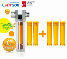 VitaFresh Shower Filter with Filter Cartridge  Vitamin C Inline Shower Filter