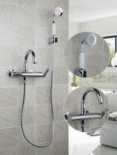 Single Handle Bathroom Solid Brass Bathtub Mixer Faucet&Hand Held Shower Tap Set