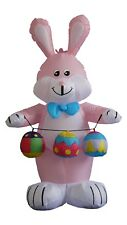 Air Blown Inflatable Bunny and Easter Eggs Garden Yard Indoor Outdoor Decoration