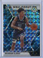 2019-20 Panini Mosaic BRANDON CLARKE NBA Debut GENESIS SSP - Memphis Grizzlies
