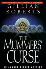 The Mummers' Curse Vol. 7 by Gillian Roberts (1996, Hc, BCE) Cozy Mystery