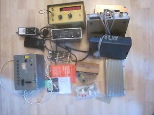 Konvolut Funkgeräte Amateurfunk Zubehör Frequenzzähler Receiver Verstärker