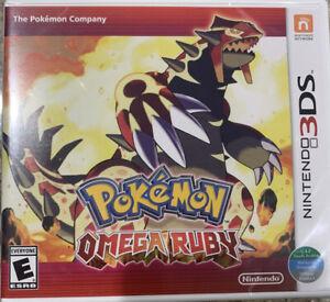 Pokemon Omega Ruby - Nintendo 3DS Brand New Factory Sealed