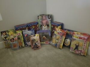 Dragon Ball Z Figures. Jakks, Irwin and Bandai lot of 12! Great for Collection!!
