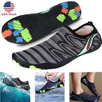 Men Water Shoes Barefoot Aqua Socks Quick-Dry Beach Swim Sports Exercise Surf