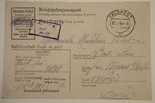 LETTRE PRISONNIER DE GUERRE STALAG X B  ALLEMAND 1944 CAMP / BAS LIEU