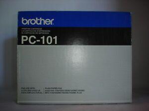 Genuine OEM Brother Black Fax Cartridge PC-101