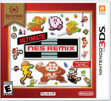 Ultimate NES Remix for Nintendo 3DS Nintendo Selects ~ New / Sealed ~ Free Ship