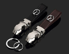 Schwarz Gepard MAZDA Leder Autoschlüssel Schlüsselanhänger Schmuckanhänger Key