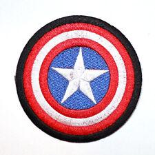 Captian America Advenger Shield Agent Comic Cartoon Movie Hero Shirt Iron Patch