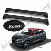 Ultra Quiet Crossbars Cross Bars Roof Rail Racks Fits for Hyundai Kona 2018 2019