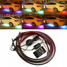 Car Automobile Chassis LED Strip Atmosphere Lights 20Key Wireless Remote Control