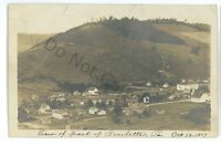 RPPC Aerial View of ROULETTE PA Potter County Pennsylvania Real Photo Postcard