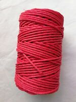 Véritable Corde pour horloge comtoise 500G (rouge) Rope and cord clock 100m