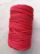Véritable Corde pour horloge comtoise 500G (rouge) Rope and cord clock 100m