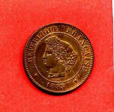 (BR.107) 5 CENTIMES CÉRÈS 1893 A (FDC) ETAT RARE