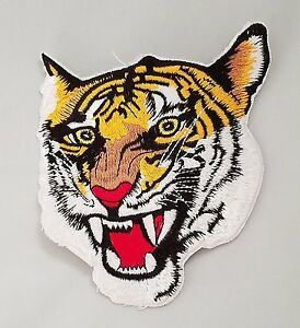 """Tiger Martial Arts Patch 2 Sizes - 5"""" & 10"""""""