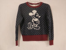 Disney Mickey Mouse long sleeve Knit Sweater childs size 7-8 Pullover