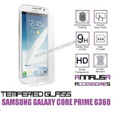 PELLICOLA IN VETRO TEMPERATO PER SAMSUNG GALAXY CORE PRIME G360 TEMPERED GLASS