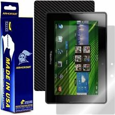 ArmorSuit MilitaryShield BlackBerry Playbook Screen Protector + Black Carbon NEW
