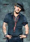 ACEO ATC Sketch Card - Johnny Depp