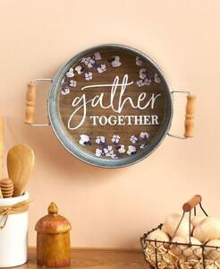 Gather Together Tray Wall Hanging