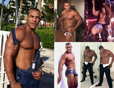 Alex Muscle DVD Male Stripper Posing + Striptease Muscle Worship