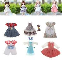 Doll Clothes Dress Handmade Sewing Party Skirt for 30-36cm Dolls & 1/6 BJD Doll