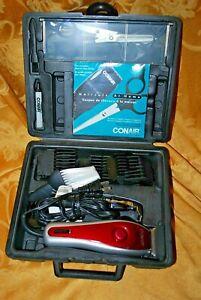 Conair HC275D Hair Trimmer Grooming Salon Home Kit Case Multi-Piece Set